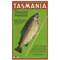 anglers' paradise poster
