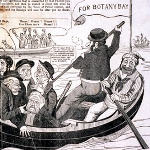 The Minister and his cronies off to Botany Bay