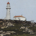 Photograph - Postcard - Low Head Lighthouse and Tamar Heads