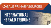 The International Herald Tribune Historical Archive website
