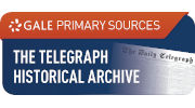 The Telegraph Historical Archive website