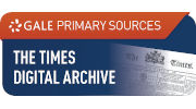 The Times Digital Archive website