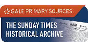 The Sunday Times Historical Archive website